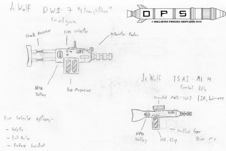 Sketch - deWulf Rifles 1
