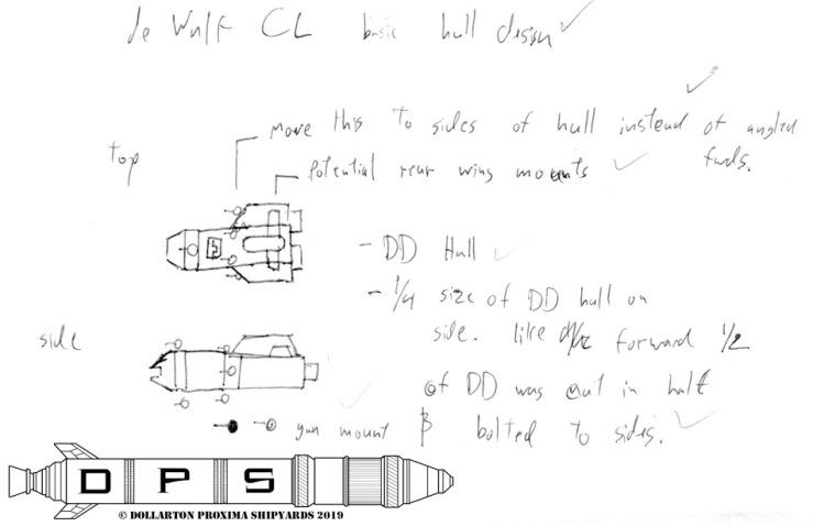 deWulf Light Cruiser Concept 1
