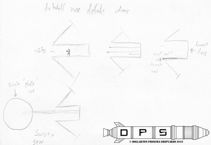 deWulf Nose Concept Art