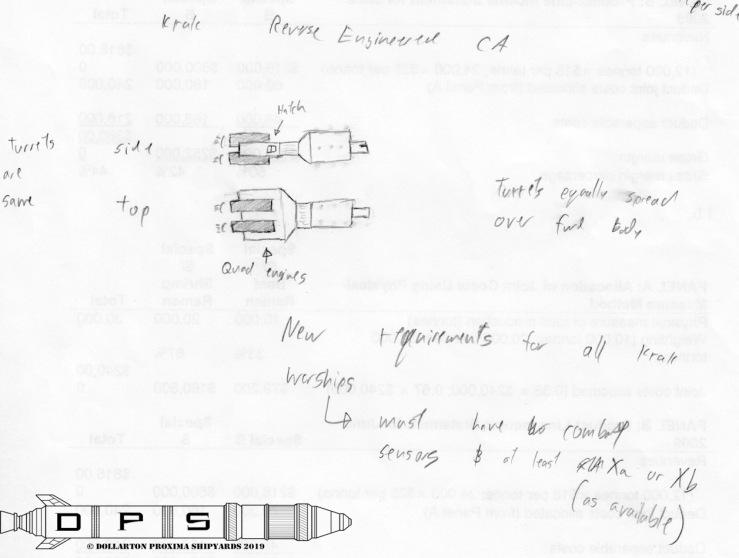 Krak Reverse-engineered CA 1